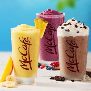 只需$1McDonalds 麦当劳夏日饮品特价活动回归  汽水/咖啡/冰沙/雪冰喝起来