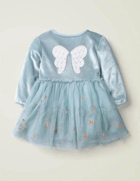 婴幼儿带翅膀连衣裙