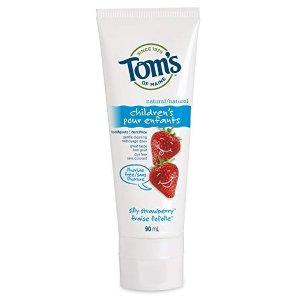 Tom's of Maine 天然无氟儿童牙膏90 mL