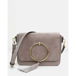Belle & BloomSailor City Leather Cross-Body - Grey