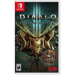 $29.99 支持中文游玩《Diablo 大菠萝 III:永恒典藏版》Switch 数字版
