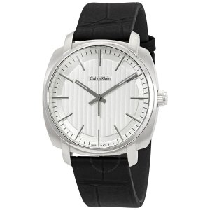 Calvin KleinHighline White Dial Men's Watch