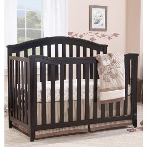 sorelleSorelle Berkley 4-in-1 Convertible Crib - Espresso