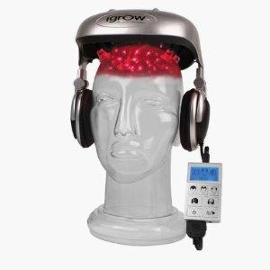 低至44折,科学生发更可靠!iGrow 艾培拉软激光生发头盔特价,脱发星人的希望