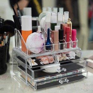$11起Amazon 化妆品、口红收纳盒 亚克力材质