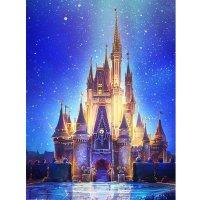 Amphol 5D 钻石画套装 梦幻城堡