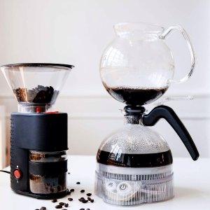 低至5折 法压壶$12.56独家:Bodum 咖啡爱好者天堂 电动磨豆机$18.86 封面$53.9