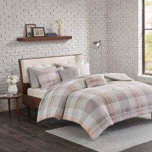 $42.99Madison Park Westin Cotton Flannel Comforter Set  @ Designer Living
