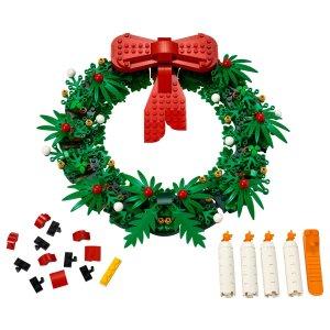 Lego10.1开始售卖圣诞花环 二合一