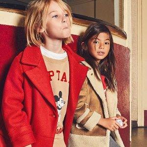 低至5折Zara 童装年末大促