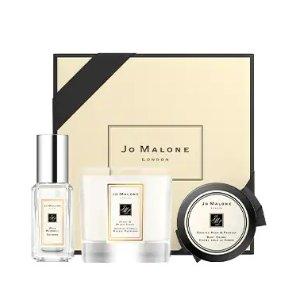 仅$79 送英国梨身体乳等24ml上新:Jo Malone 明星香氛3件套 含蓝风铃古龙、英国梨身体乳
