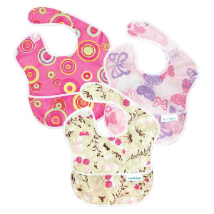 $9Bumkins Waterproof SuperBib 3 Pack, SN4 (Dr. Seuss Cat in the Hat/Green Eggs/Yellow Fish) (6-24 Months)