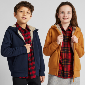As low as $9.9 + Free ShippngUniqlo Kids Light Warm Padded Vest and More Styles on Sale