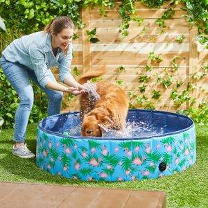 狗狗可折叠便携泳池
