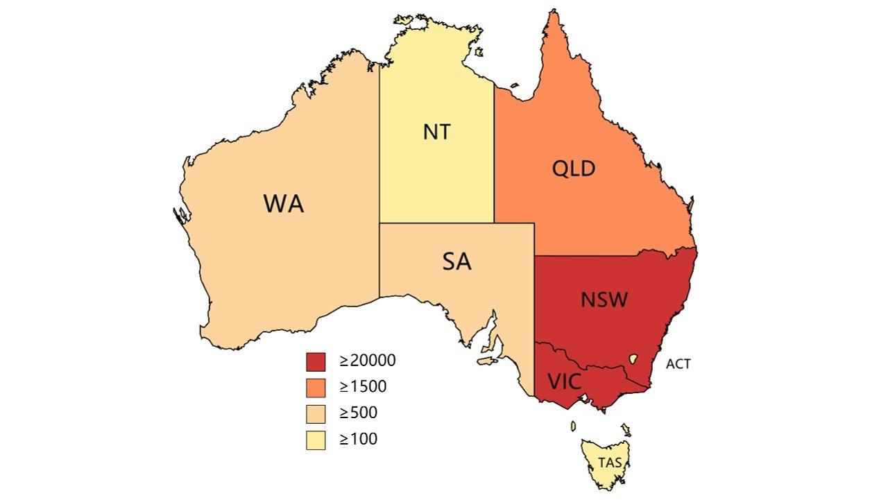 澳洲疫情&疫苗实时动态:全澳两剂接种率达到70%!维州262天封城今夜结束!新州再发代金券!维州2232例12病亡,新州372例1病亡>>