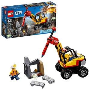 Lego史低价City 系列 大功率矿石开采机 60185