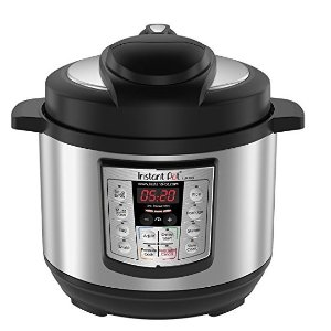 instant potLUX Mini 3 Qt 6-in-1 Multi- Use Programmable Pressure Cooker, Slow Cooker, Rice Cooker, Saute, Steamer, and Warmer