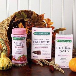 Buy 1 Get 1 FREE or Buy 1 Get 1 50% OFFVitamins & Supplements @ Walgreens