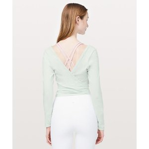 LululemonIt's A Tie Long Sleeve | Women's Long Sleeve Tops | lululemon athletica