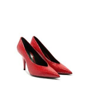 Casadei红色高跟鞋