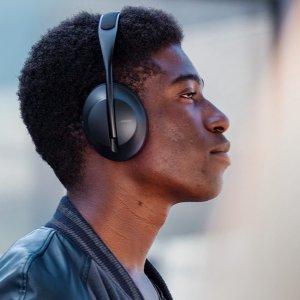 $399 全新外观设计 11档降噪级别可调Bose 全新头戴式降噪耳机 700 开始预购