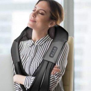 $59.99 (原价$84.99)Nekteck Shiatsu 可加热肩颈按摩披肩  随时舒缓疲劳