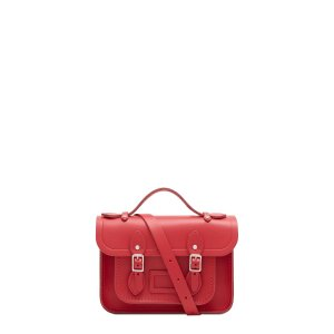 The Cambridge Satchel Company UK StoreMagnetic Mini Satchel in Leather - Red Berry