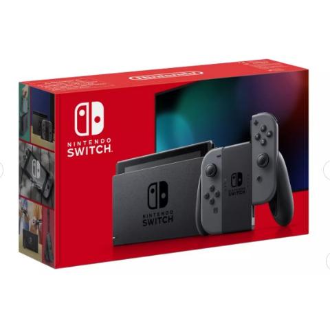 官网价£279.99Argos官网 深灰色Nintendo Switch 回货 早买早享受