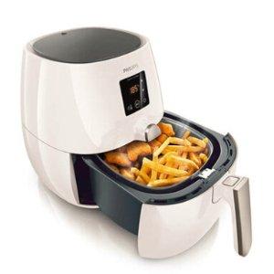 $159 (原价$229) 在家也能吃炸鸡Philips HD9216 健康无油空气炸锅 气质白色