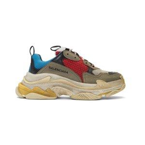 $850 (官网定价$950)Balenciaga 老爹鞋降价 经典红蓝、黑红配色