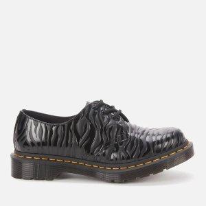 Dr. Martens1461褶皱皮鞋