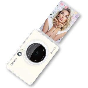 CanonZoemini S照相机 珍珠白