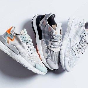 无门槛8.5折+任意单免邮最后一天:adidas官网 爆款Nite Jogger全能运动潮鞋促销