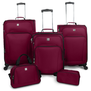 $68Protege 5 Piece Spinner Luggage Set @ Walmart