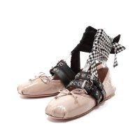 Miu Miu 粉色芭蕾舞鞋