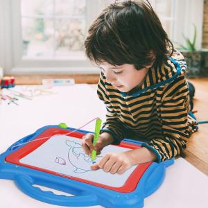 $28.9(原价$45.32)NextX 儿童磁性画板 四色设置 画出美丽小世界
