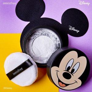 8折Innisfree 明星美妆促销 收多用矿物散粉、慕斯清洁面膜