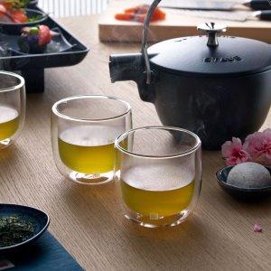 Zwilling购买茶壶可换购此产品Sorrento 双层隔热玻璃杯2件套