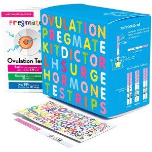 $15.25  4.6星好评PREGMATE 排卵LH指数试纸 备孕/测安全期好帮手