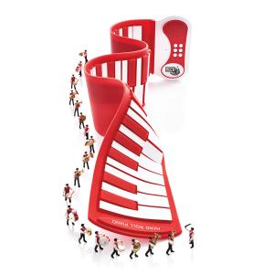 $22.5Mukikim 红色手卷钢琴
