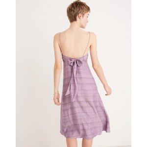 Tie-Back Cami Dress