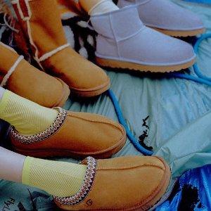 UGG 精选男女款靴子、配饰、保暖外套特卖