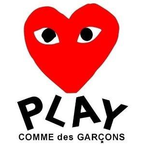 $95收T恤,情侣虐狗必备Comme des Garçons Play 时尚小红心买起来