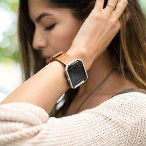 低至5折+买3享额外8折+包邮Fitbit 心率监测运动手环大促