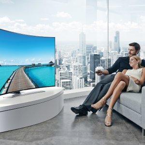 三星55吋曲面HDR $449 抱回家Walmart 4K超高清电视好价继续 全线低至$179, 最高直降$600