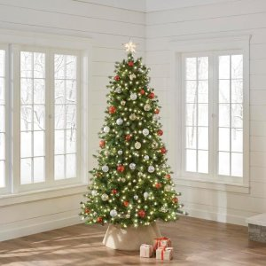 $79.987.5 ft. Pre-Lit Braxton Color Changing 8-Function Artificial Christmas Tree with 700 Micro Dot LED Lights