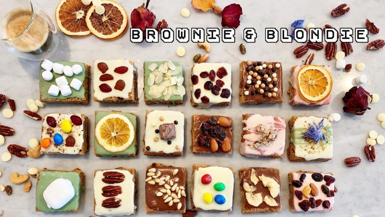 经典美式甜心| 「布朗尼Brownie & 布朗迪Blondie」 甜蜜一次送给你💕💕💕