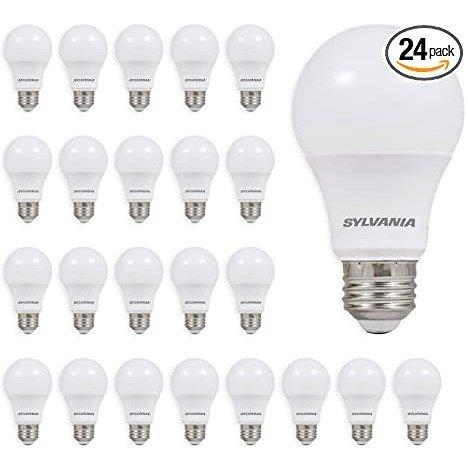 LED A19 60W 灯泡 24个