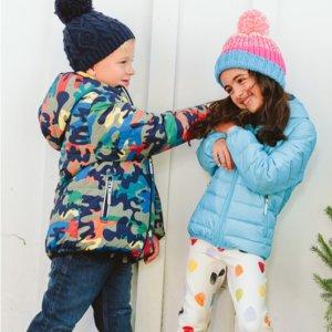 包邮+睡衣$25 其他6折折扣升级:Hanna Andersson 全场童装促销 清仓区能叠加额外折扣