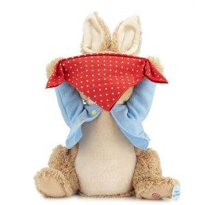包邮 满$200立减$50Gund 可爱毛绒玩偶热卖,收捉迷藏彼得兔
